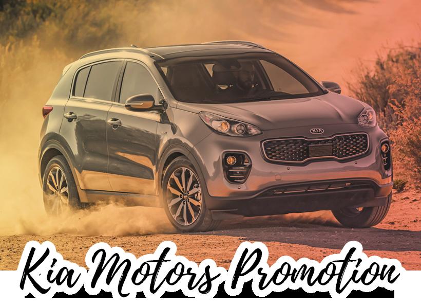 KIA Motors Vehicle Promotion 2019